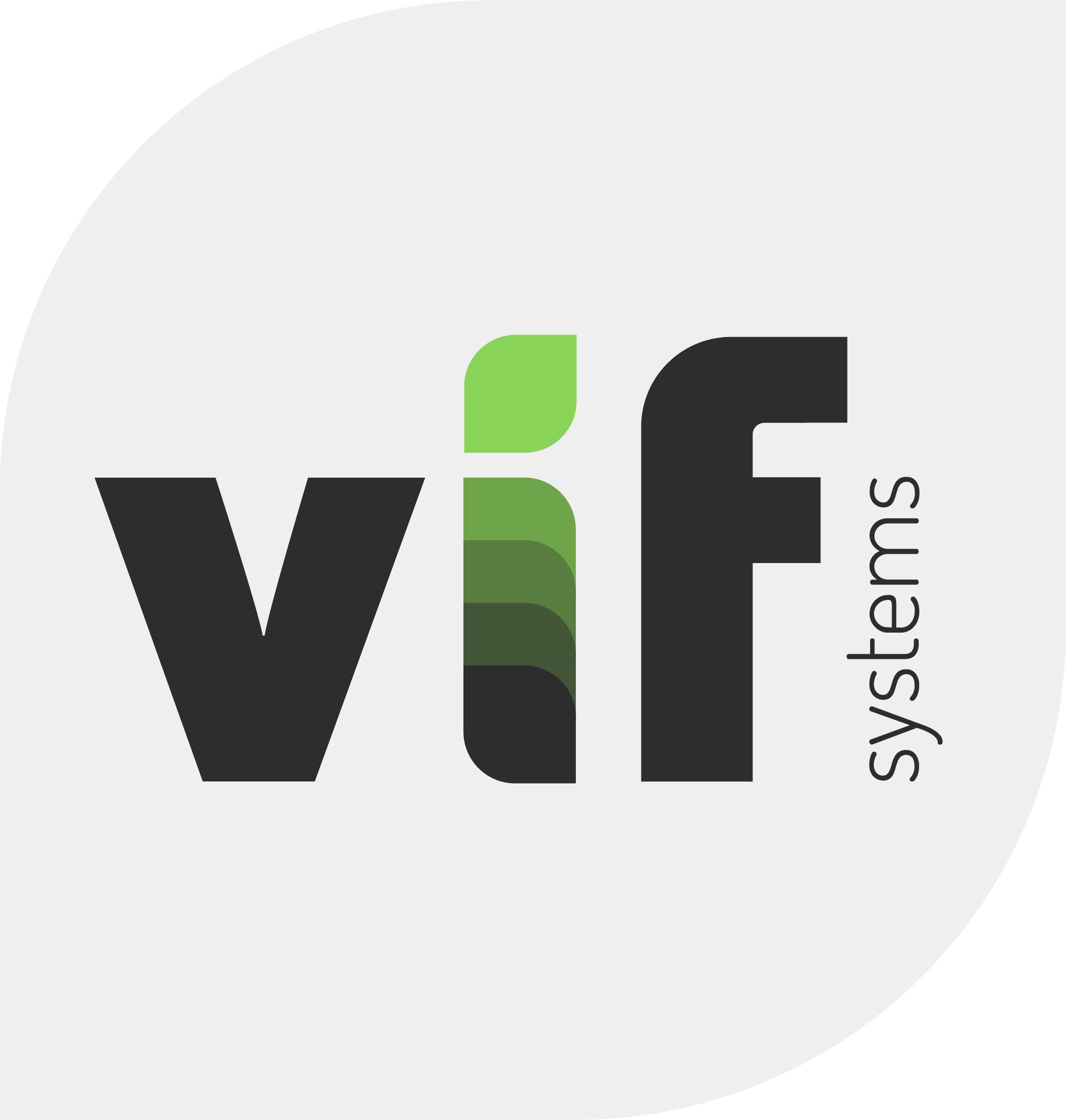 Logo vif systems fond gris copie